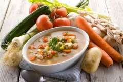 Вкусные рецепты: Персиковая фантазия, шоколадные Мадлен с корицей, Крем-суп сырный